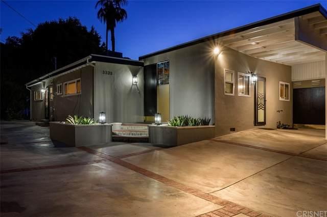 3323 Ione Drive, Hollywood Hills, CA 90068 (#SR21157670) :: Twiss Realty
