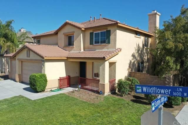 1686 Wildflower Lane, San Jacinto, CA 92582 (#OC21095971) :: Latrice Deluna Homes