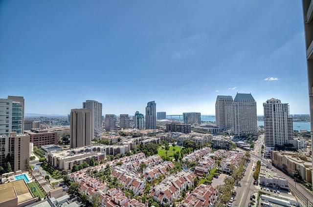 700 W E Street #2305, San Diego, CA 92101 (#PTP2105200) :: Mark Nazzal Real Estate Group