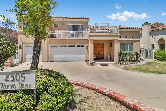 2305 Waring Drive, Agoura, CA 91301 (#SR21161660) :: A|G Amaya Group Real Estate