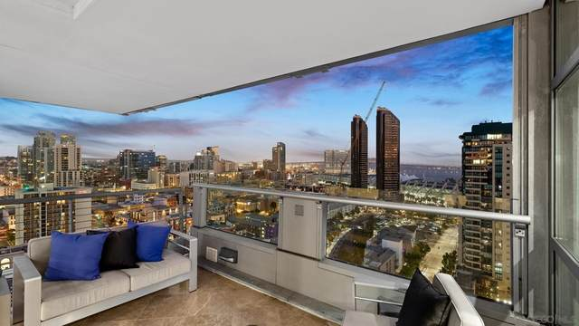 645 Front Street #2004, San Diego, CA 92101 (#210020899) :: Realty ONE Group Empire
