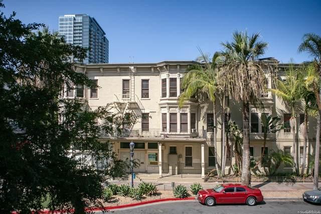 1225 Island Avenue #207, San Diego, CA 92101 (#NDP2108632) :: The DeBonis Team