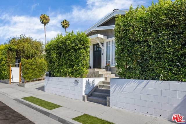 7755 Fountain Avenue, Los Angeles (City), CA 90046 (#21763354) :: Twiss Realty