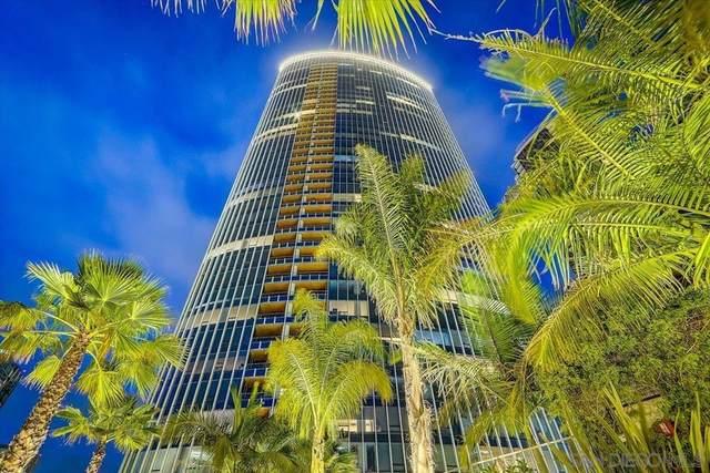 888 W E St #504, San Diego, CA 92101 (#210020925) :: Mainstreet Realtors®