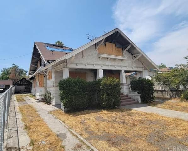 1146 N D Street, San Bernardino, CA 92410 (#EV21161438) :: The Marelly Group | Sentry Residential