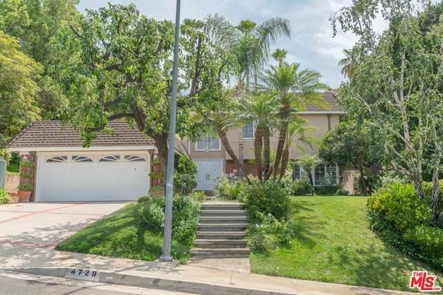 4729 Monarca Drive, Tarzana, CA 91356 (#21764888) :: Mark Nazzal Real Estate Group
