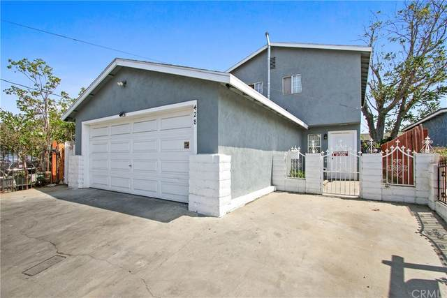 428 W Fig Street, Compton, CA 90222 (#PW21159065) :: Realty ONE Group Empire