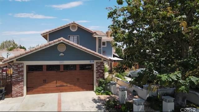 2401 Oakcrest Avenue, Palmdale, CA 93550 (#SR21162745) :: The Kohler Group