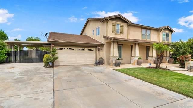 12996 Maplewood Drive, Yucaipa, CA 92399 (#CV21162825) :: Mark Nazzal Real Estate Group