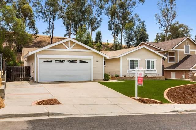 9241 Birchcrest Blvd, Santee, CA 92071 (#210020987) :: Jett Real Estate Group