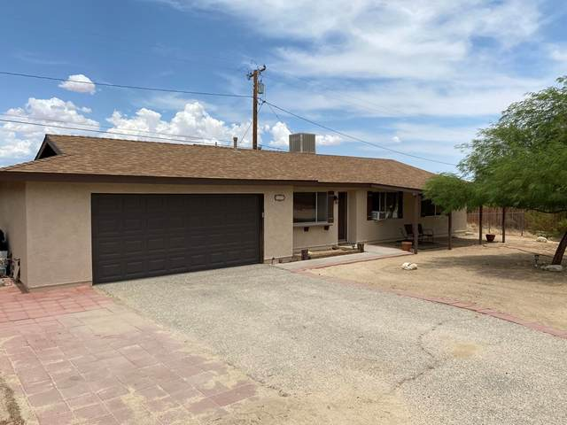 61660 Valley View Drive, Joshua Tree, CA 92252 (#219065338PS) :: Rogers Realty Group/Berkshire Hathaway HomeServices California Properties