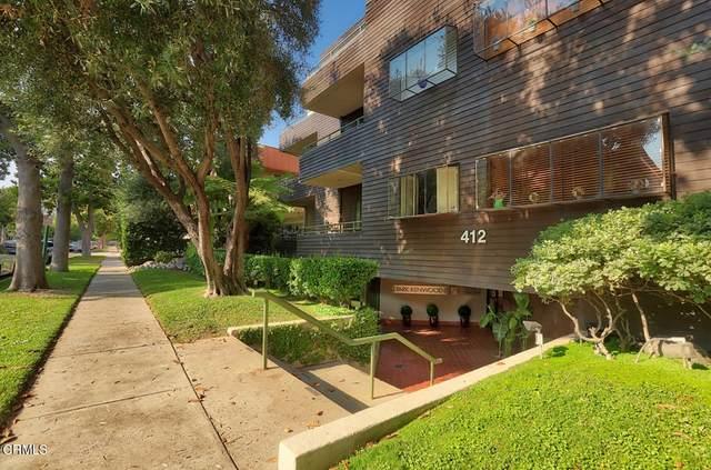 412 N Kenwood Street #105, Glendale, CA 91206 (#P1-5899) :: Mark Nazzal Real Estate Group