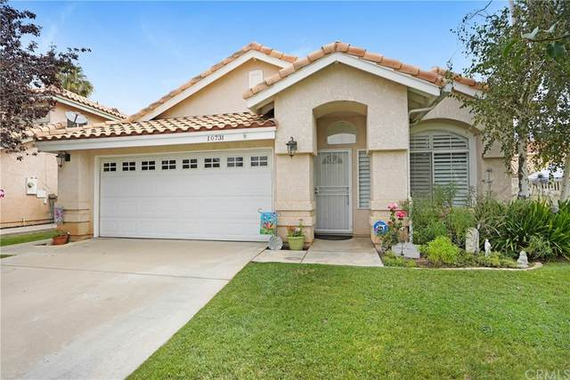 10731 Moss Rose Court, Yucaipa, CA 92399 (#IV21163566) :: Mark Nazzal Real Estate Group
