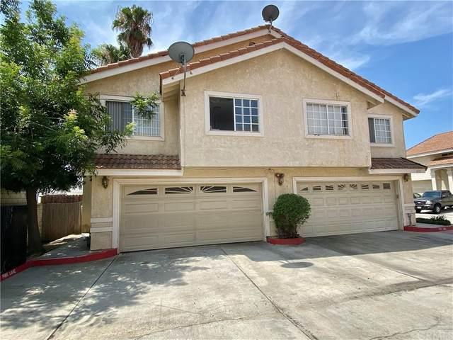 373 E Phillips Boulevard, Pomona, CA 91766 (#CV21163544) :: Jett Real Estate Group
