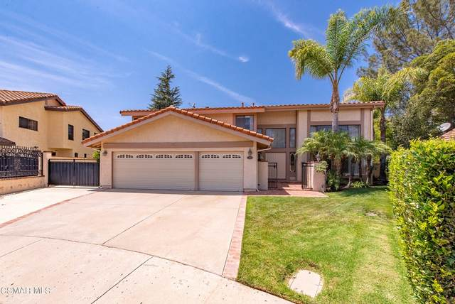 599 Pinecliff Place, Simi Valley, CA 93065 (#221004093) :: Millman Team