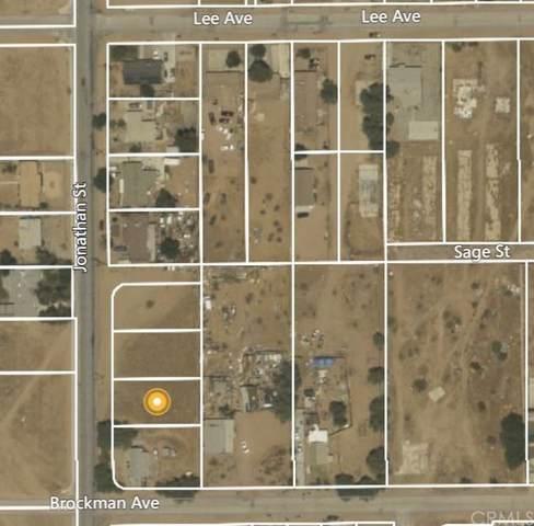 0 Jonathan, Adelanto, CA 92301 (#IV21163726) :: Jett Real Estate Group