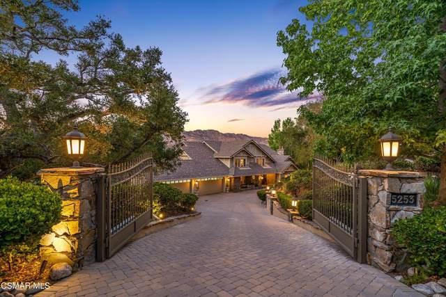 5253 Lakeview Canyon Road, Westlake Village, CA 91362 (#221004097) :: Jett Real Estate Group