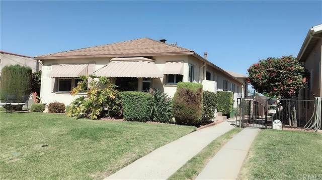 1620 1622 S 8th Street, Alhambra, CA 91803 (#AR21163732) :: Mark Nazzal Real Estate Group
