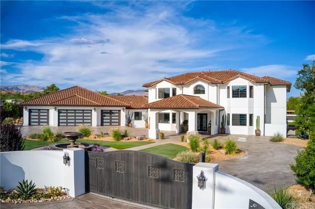 33206 Barber Road, Agua Dulce, CA 91390 (#SR21163523) :: Legacy 15 Real Estate Brokers