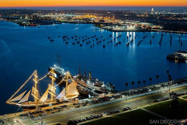 1325 Pacific Hwy #3403, San Diego, CA 92101 (#210021202) :: Realty ONE Group Empire