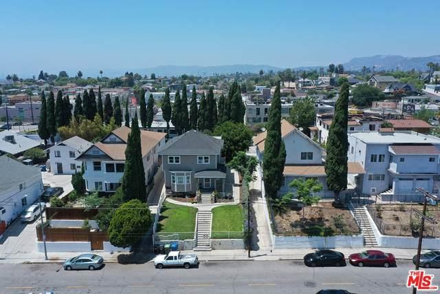 1021 N Bonnie Brae Street, Los Angeles (City), CA 90026 (#21765398) :: Robyn Icenhower & Associates