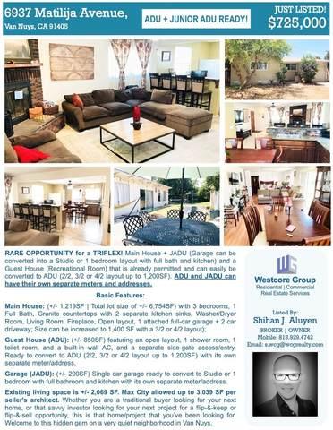 6937 Matilija Avenue, Van Nuys, CA 91405 (#SR21164286) :: Powerhouse Real Estate