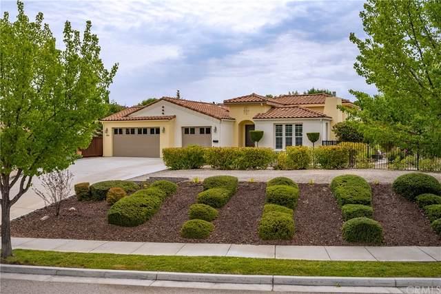 986 Vista Cerro Drive, Paso Robles, CA 93446 (#SC21163478) :: Cochren Realty Team | KW the Lakes