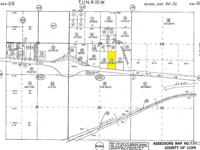 100 Street On Highway 58, Mojave, CA 93501 (#SR21165455) :: Robyn Icenhower & Associates