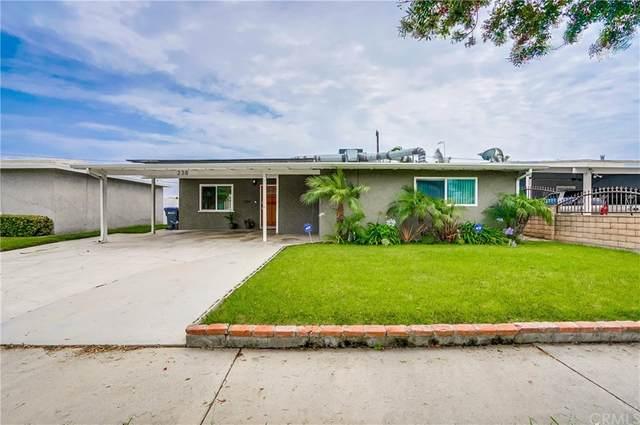238 W 234th Street, Carson, CA 90745 (#PV21165037) :: Latrice Deluna Homes
