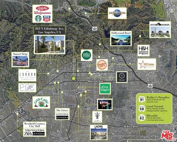 813 N Edinburgh Avenue, Los Angeles (City), CA 90046 (#21766206) :: Compass