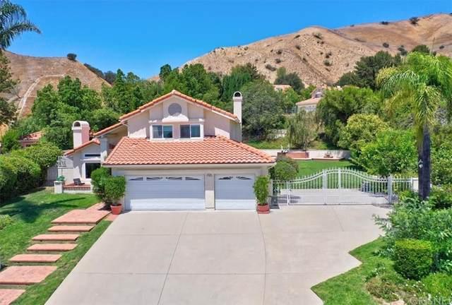 17907 Tuscan Court, Granada Hills, CA 91344 (#SR21165754) :: Mark Nazzal Real Estate Group