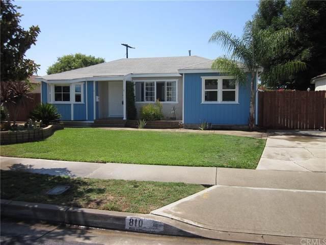 810 W Heather Avenue, La Habra, CA 90631 (#OC21165667) :: Zen Ziejewski and Team