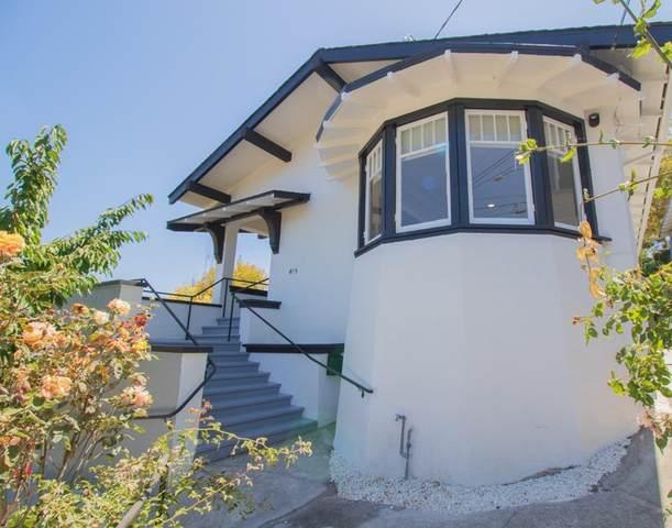 415 Sunnyslope Avenue, Oakland, CA 94610 (#ML81855813) :: Team Tami