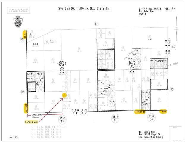 0 Riverside Road, Newberry Springs, CA 92365 (#OC21166183) :: Latrice Deluna Homes