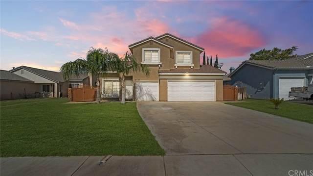 1619 Quail Summit Drive, Beaumont, CA 92223 (#CV21166192) :: RE/MAX Empire Properties