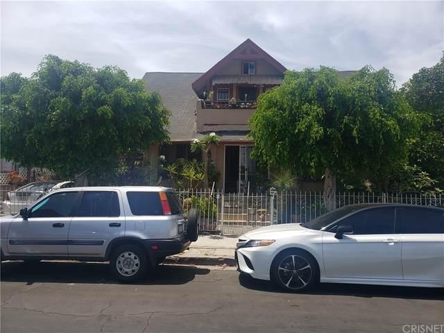 1415 S Kenmore Avenue, East Los Angeles, CA 90006 (#SR21166041) :: Zutila, Inc.