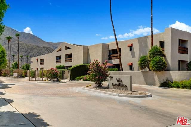 255 S Avenida Caballeros #203, Palm Springs, CA 92262 (#21764668) :: A G Amaya Group Real Estate