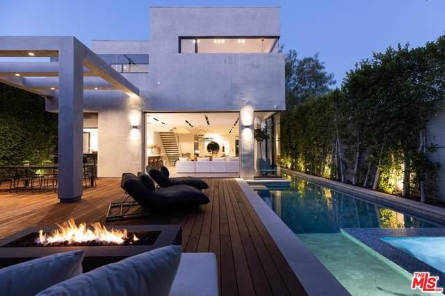609 N Edinburgh Avenue, Los Angeles (City), CA 90048 (#21766132) :: Mint Real Estate