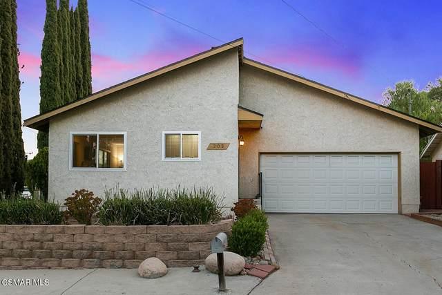 305 Flittner Circle, Thousand Oaks, CA 91360 (#221004168) :: Zen Ziejewski and Team