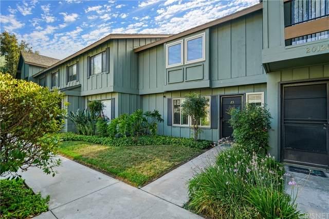 20126 Runnymede Street #23, Winnetka, CA 91306 (#SR21166564) :: Jett Real Estate Group