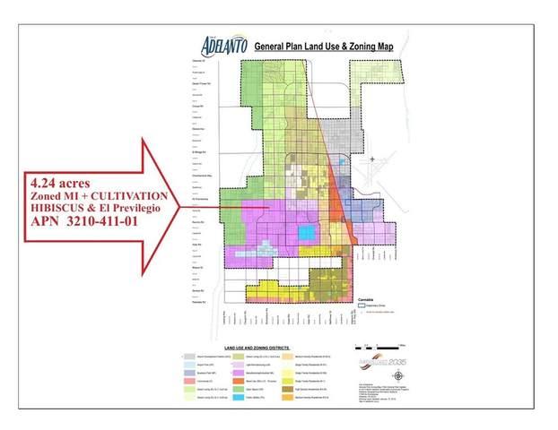 0 Hibiscus & El Privilegio 4.24 Acres Road, Adelanto, CA 92301 (#TR21166634) :: Latrice Deluna Homes