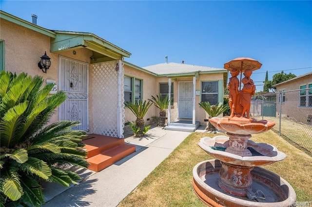 8225 Paramount Boulevard, Pico Rivera, CA 90660 (#SR21165825) :: Latrice Deluna Homes