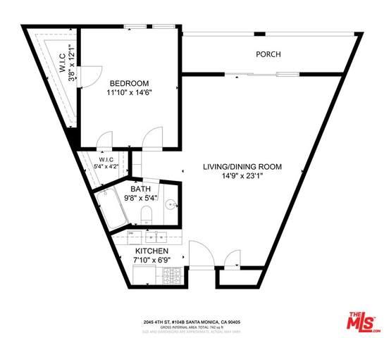 2045 4Th Street 104B, Santa Monica, CA 90405 (#21764988) :: Powerhouse Real Estate