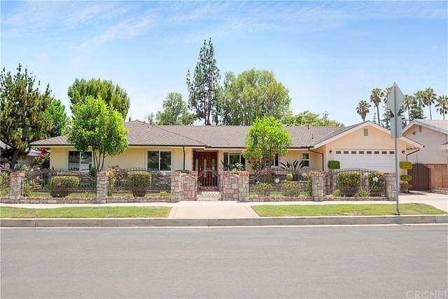 17410 Prairie Street, Northridge, CA 91325 (#SR21166695) :: Pam Spadafore & Associates