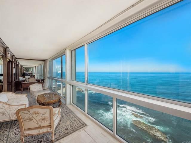 939 Coast Blvd 17C, La Jolla, CA 92037 (#NDP2108875) :: Cochren Realty Team | KW the Lakes
