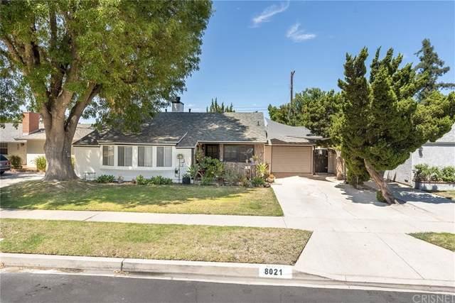 8021 Lasaine Avenue, Northridge, CA 91325 (#SR21162079) :: Cochren Realty Team | KW the Lakes