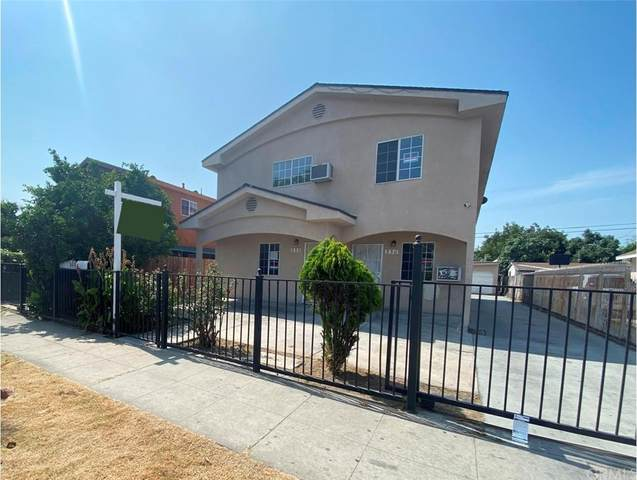 330 E 76th Street, Los Angeles (City), CA 90003 (#DW21161116) :: Wendy Rich-Soto and Associates