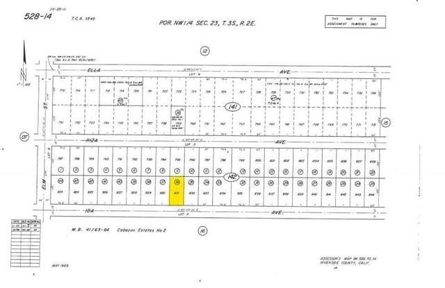 1 Ida  Avenue Avenue, Cabazon, CA 92230 (#219065539DA) :: RE/MAX Empire Properties