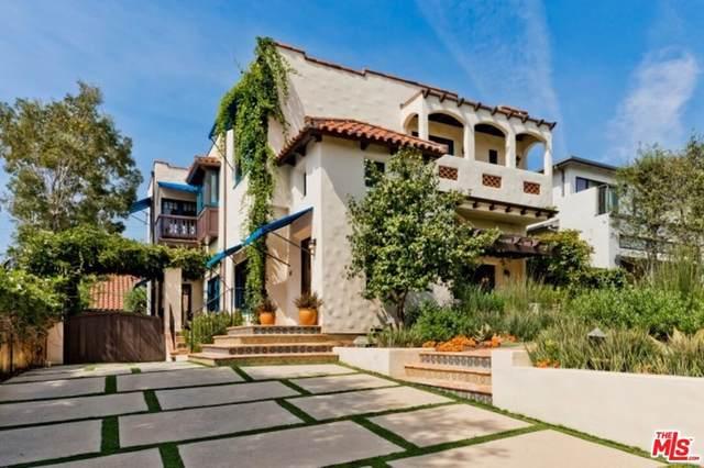 1051 Chautauqua Boulevard, Pacific Palisades, CA 90272 (#21766908) :: Legacy 15 Real Estate Brokers