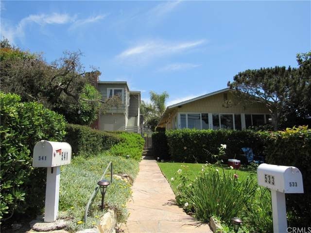 533 Agate Street, Laguna Beach, CA 92651 (#OC21166843) :: Mint Real Estate
